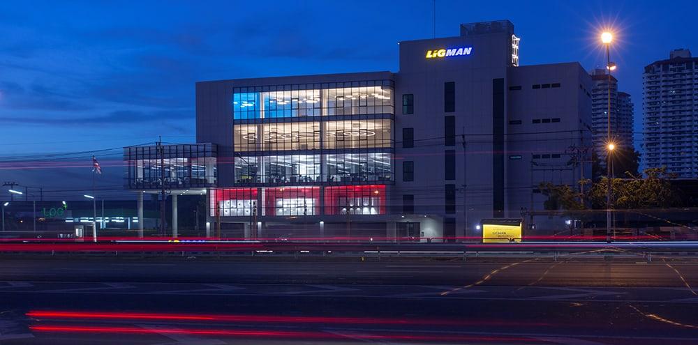 LIGMAN New Office