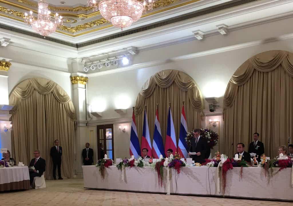 Prime Minister of Czech Republic's Invitation to LIGMAN CEO
