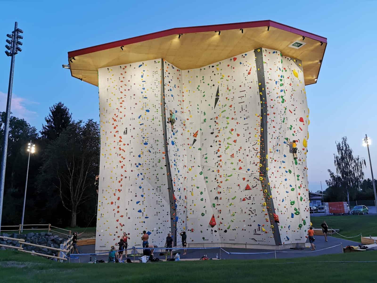 Project – Sparkassen Arena DAV Climbing Center Illertissen