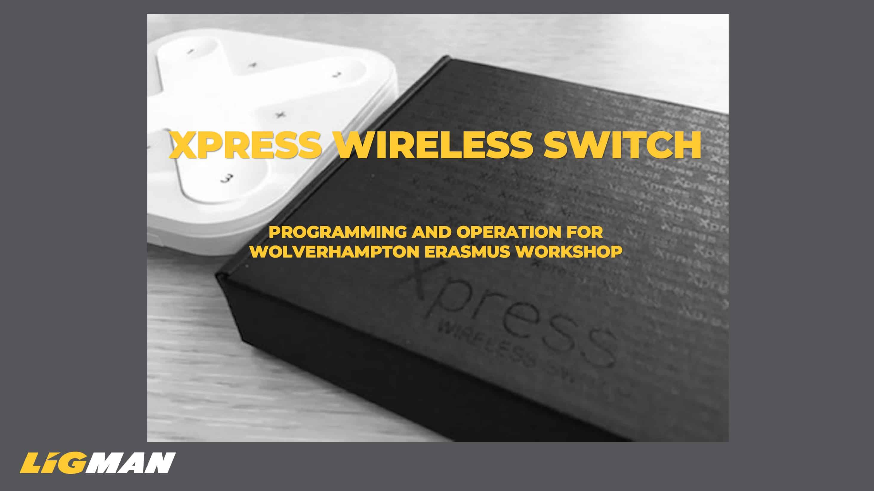 Accessories: Press Wireless Switch