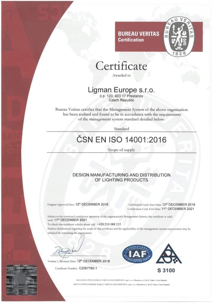 LLEU - ISO 14001