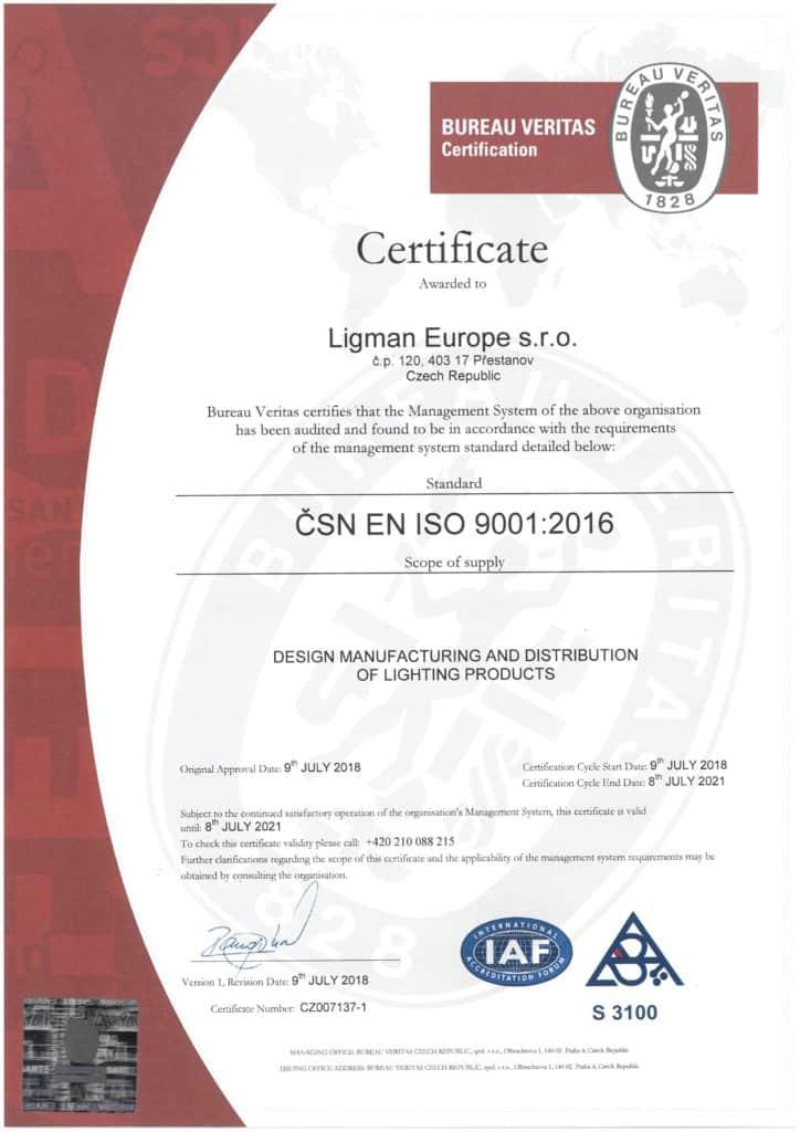 LLEU - ISO 9001