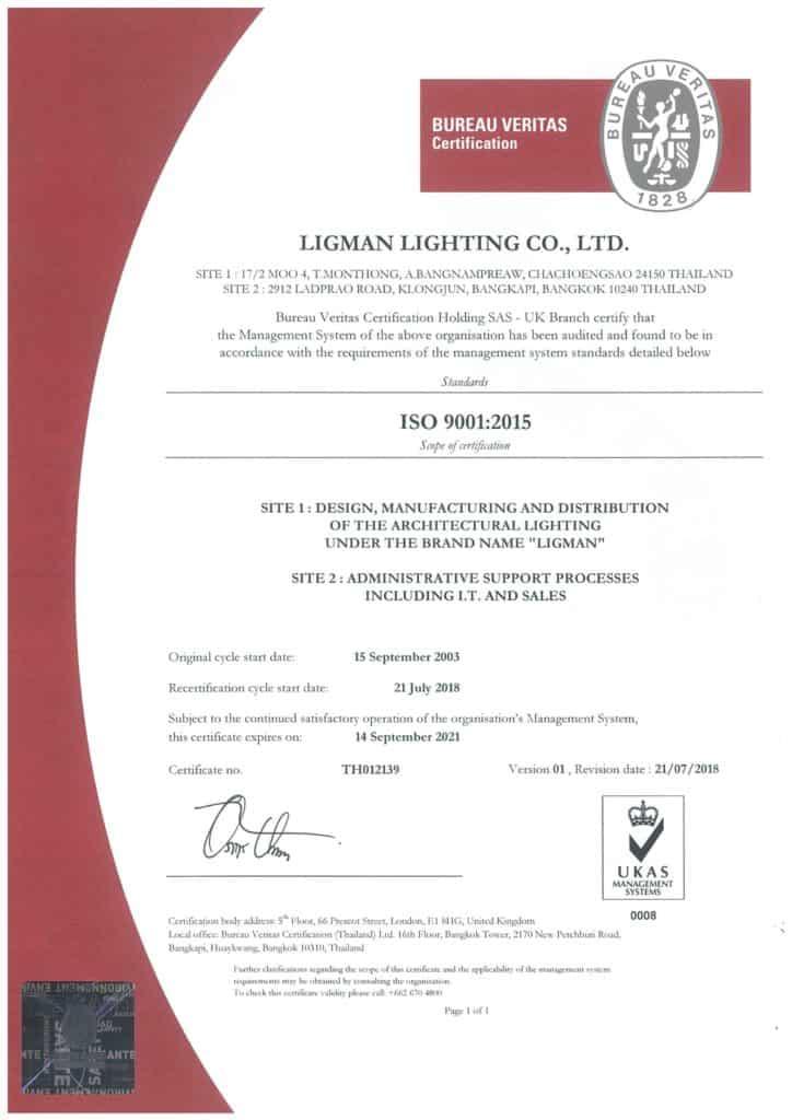 LLTH - ISO 9001