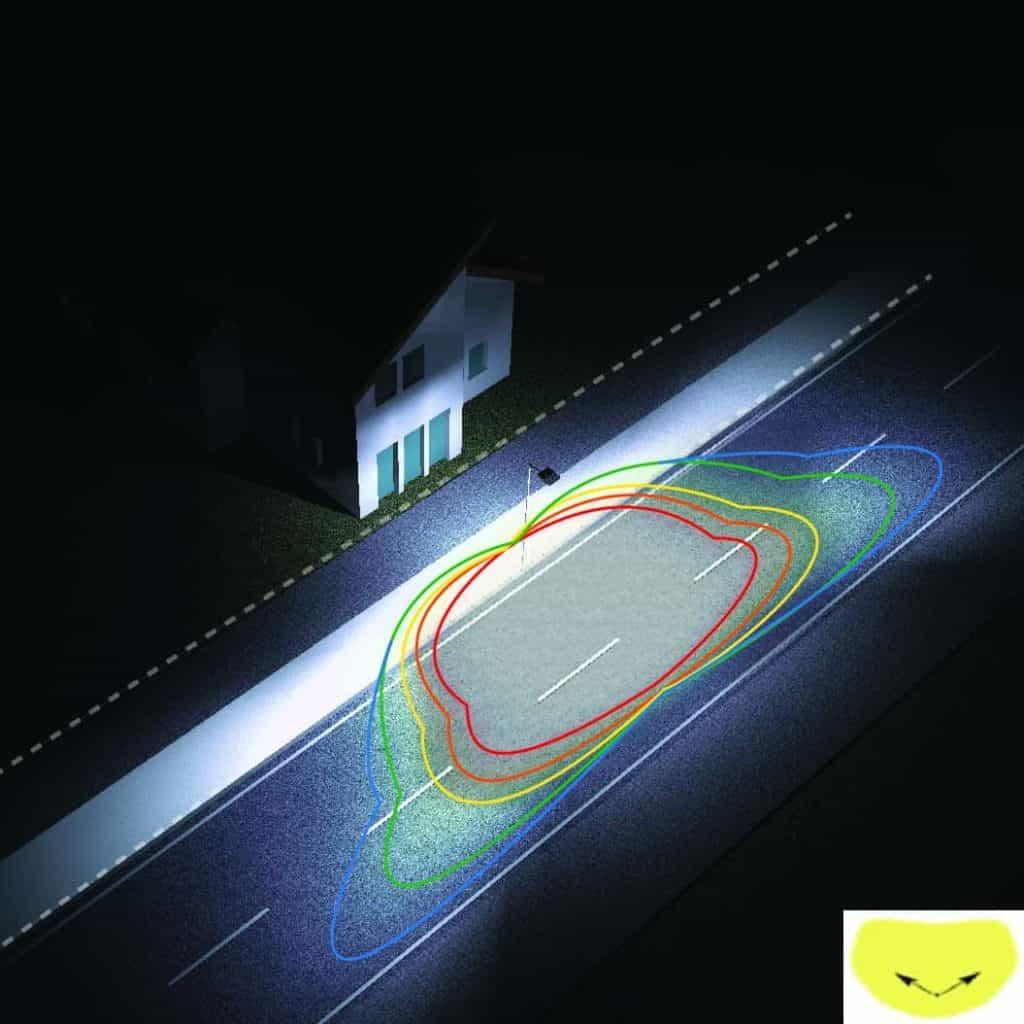โคม ไฟ ถนน led (streetlight led)