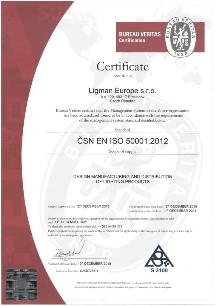 LLEU - ISO 50001