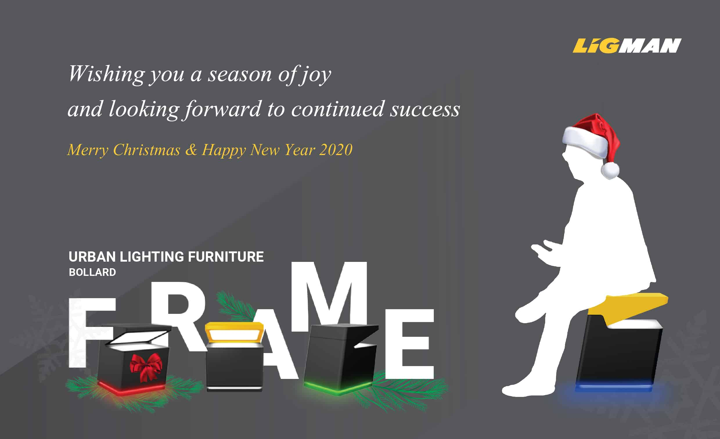Merry Christmas and a Happy New Year from LIGMAN