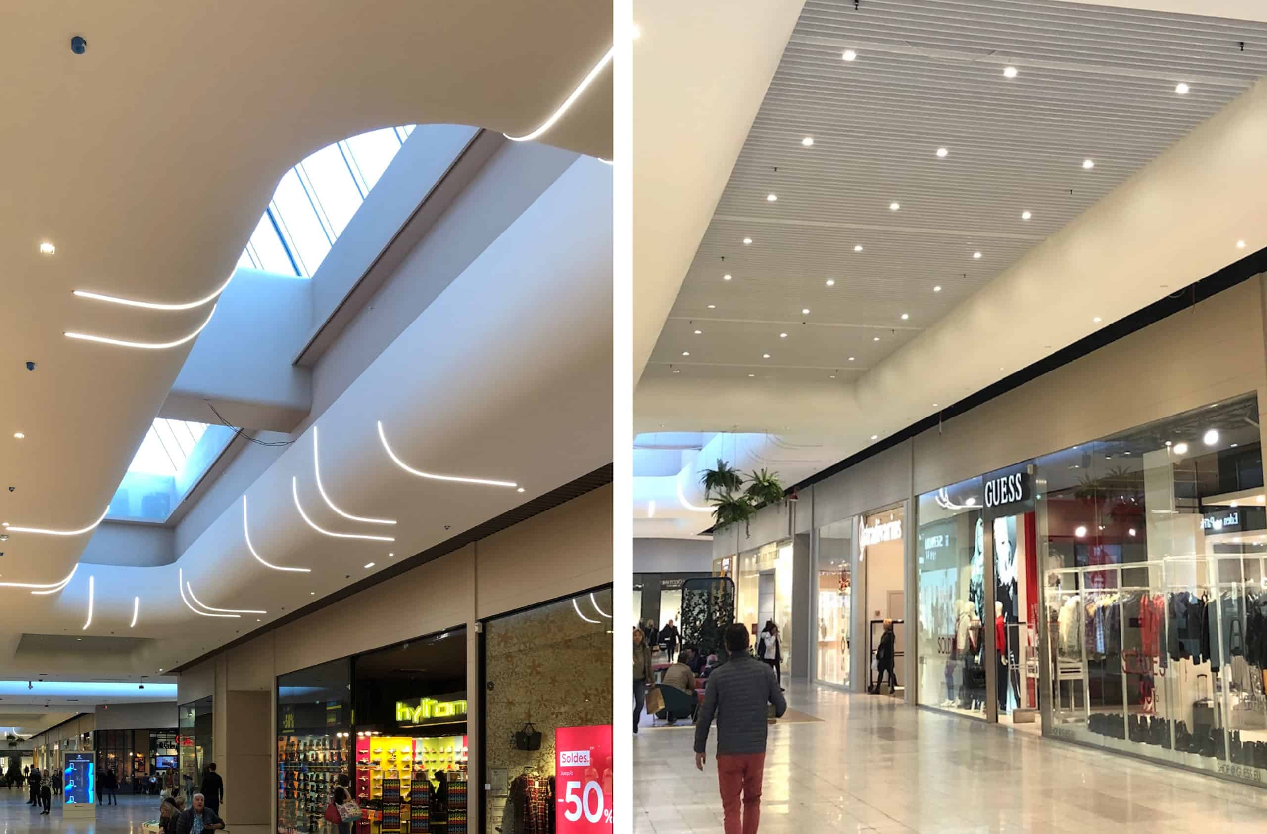 Project Galerie du Centre Commercial de Blagnac, France